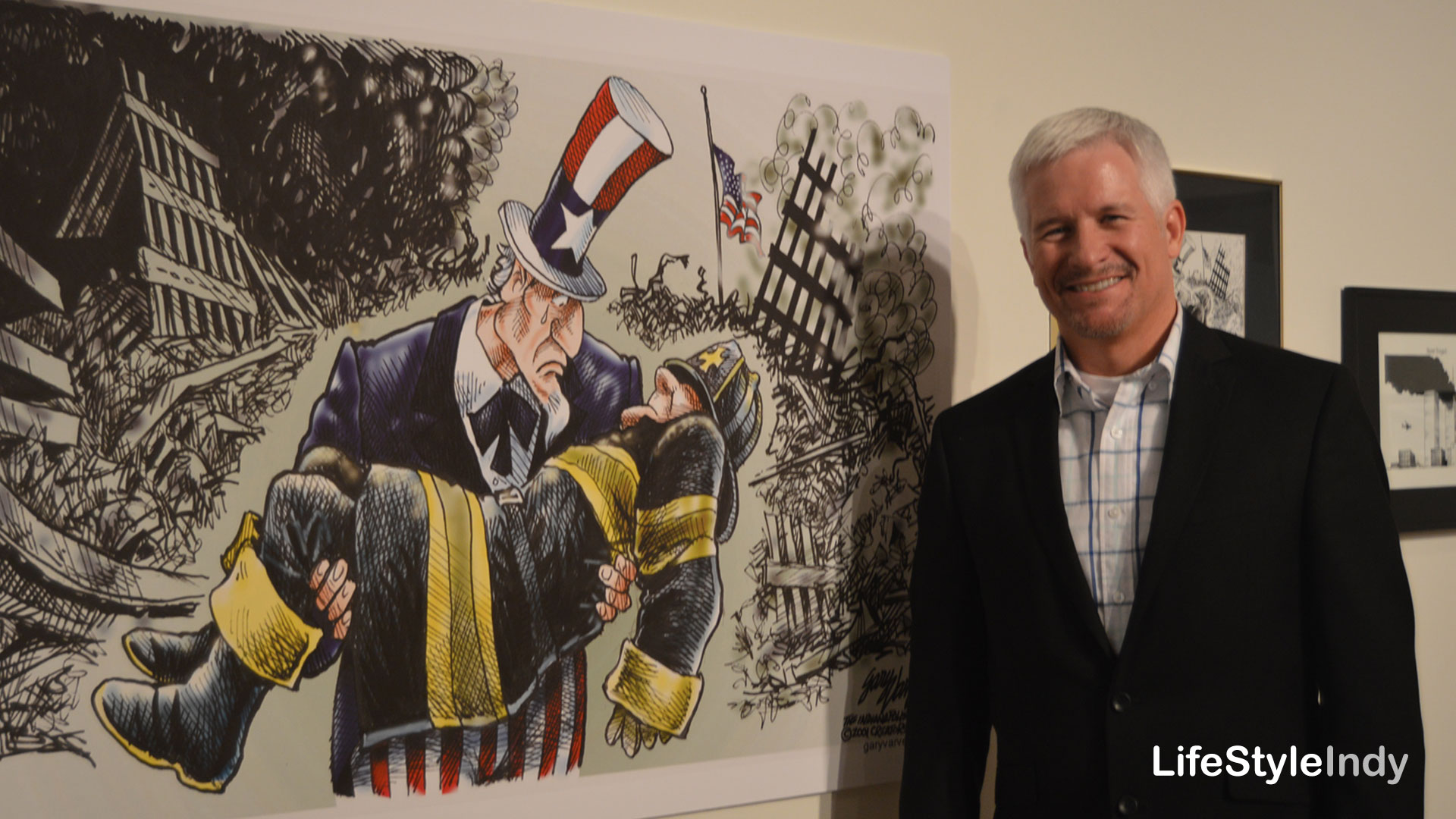 Local Cartoonist Gary Varvel makes national impact