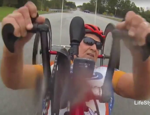 Butch Martin: Hooked on Wheelchair Racing